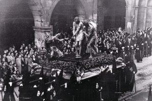 Ecce Homo. Vendredi Saint. 1945