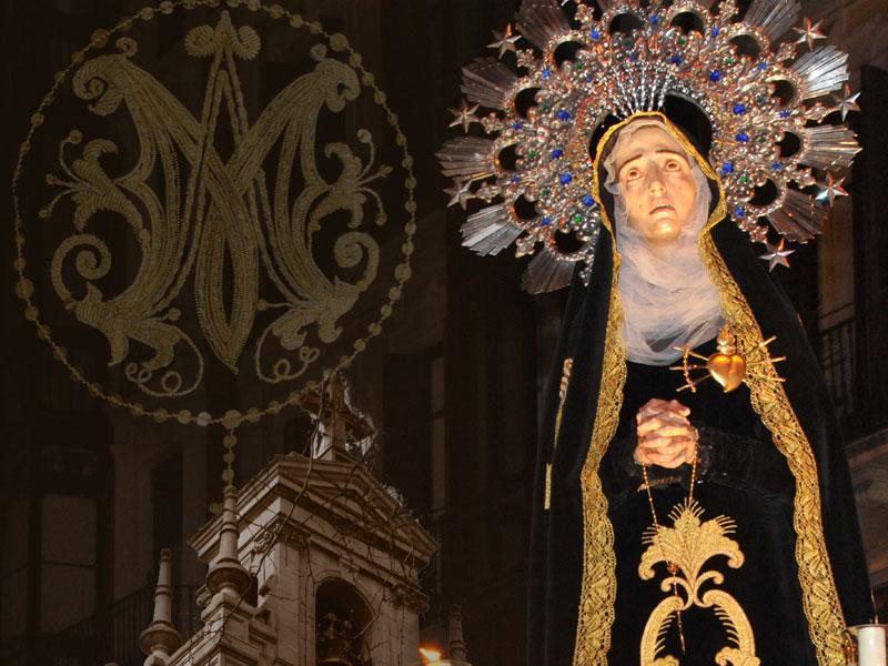 rosario virgen dolores